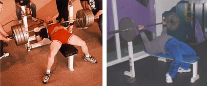 Bench Press Foot Position